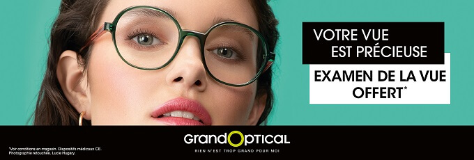 Offre Grand Optical